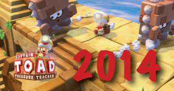 Captain Toad: Treasure Tracker - pre-order - Christmas 2014 release