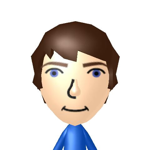 Martyn's Mii avatar