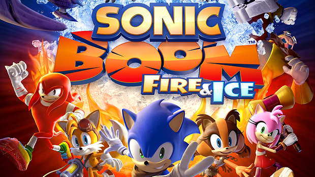 Sonic Boom Fire & Ice banner